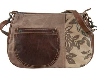 Sunsa woman crossbody bag canvas bag shoulder bag handbag Artno.: 51673