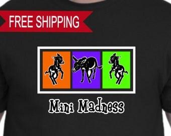 Mini Madness Donkey T Shirt