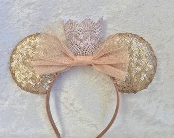 Birthday princess mouse ears