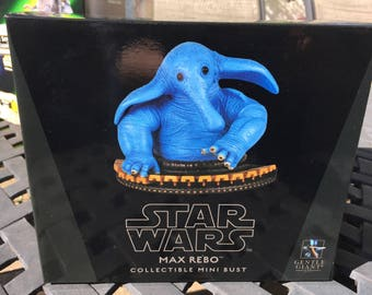 Max Rebo Gentle Giant Collectible Mini Bust