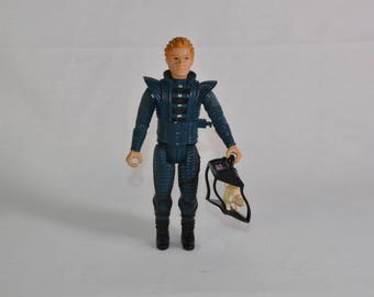 Feyd Rautha action figure with cat by LJN for Dune line of toys in 1984