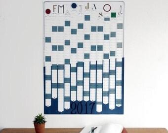 2017 Wall Calendar / Wall Planner