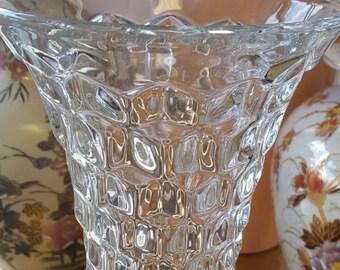 Vintage Fostoria Glass Vase