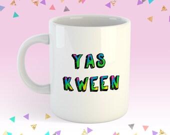 YAS KWEEN  11oz coffee mug Broad City Inspired