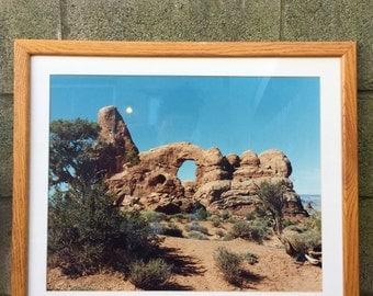 Framed Arches National Park Print