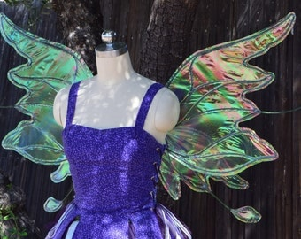 Large Iridescent Flighty Fairy Wings