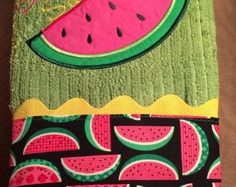 Watermelon Applique' Kitchen Towel