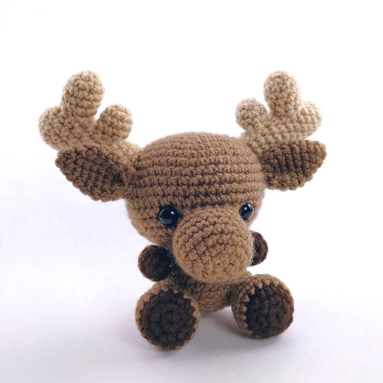 PATTERN: Crochet Moose Pattern Amigurumi Moose Pattern