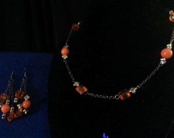 Orange Delight Jewelry Set