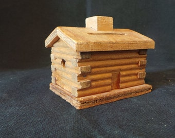 Miniature Log Cabins Etsy