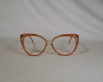 fabulous vintage sunglasses lunettes eyeglasses SWANK carved frame france