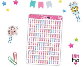 HP 040) -- Clarisonic Stickers, Face Brush Planner Stickers