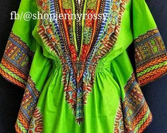 Dashiki Dressy TOP,  DASHIKI top,Angelina top,African women clothing
