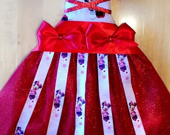 Minnie Mouse tutu bow holder