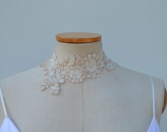 the brim of married lace neck, collar wedding lace
