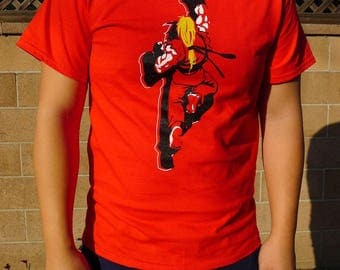 Ken Masters Street Fighter Video Gamer Shirt