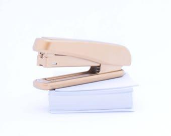 Gold Stapler, Desk Accessories, Office Supplies, Teacher Gift, Office Gift Ideas
