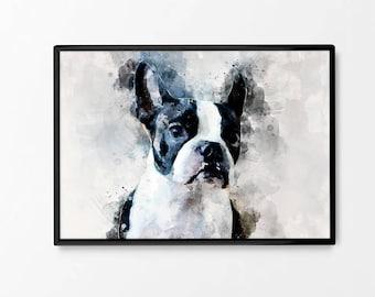 Dog Wall Art | Etsy