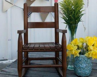 walnut childrens wooden rocking chair - Rocking Chair Cushion Sets