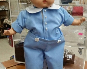 Beatiful 1940's Boy Composition Doll