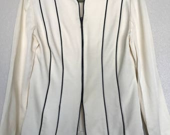 CLEARANCE Small Cream colored made for essence jacket