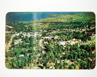 Deep River Ontario Postcard 1959 / Town of Deep River / Renfrew County