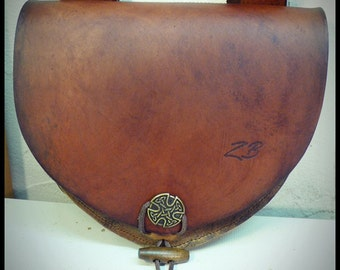 Escarcelle leather