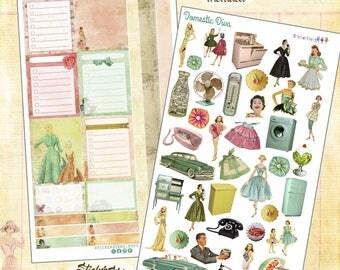 Domestic Diva Planner Stickers