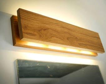 Wall Lamp SC#90 Handmade. Oak. Sconce. Wooden Sconce. Wood Lamp