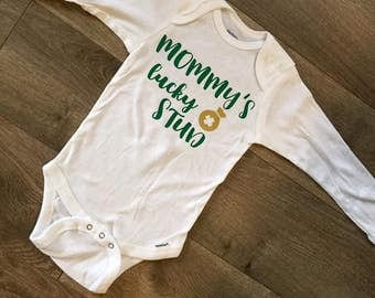 Mommy's Lucky Stud Onesie