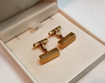 Cuff links of cufflinks gold 585 design GM100