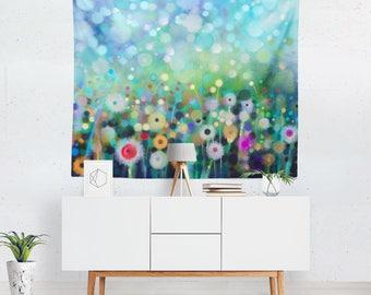 Floral Tapestry | Floral Wall Tapestry | Floral Wall Décor | Floral Tapestries | Floral Wall Art | Floral Art | Floral Décor