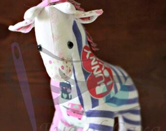 Keepsake // Giraffe Keepsake // Keepsake Animal // Memory Keepsake // Custom Made // Made From Your Clothing // Giraffe //
