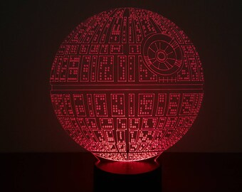 Death Star led Night Light Lamp