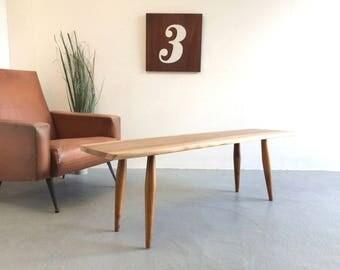 Retro Coffee Table / Bench 1960s Eames Era Retro