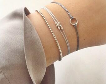 Gift-Circle Bracelet,sterling silver bracelet,hoop bracelet,925 bracelet,boho bracelet,karma bracelet,infinity bracelet,bridesmaid gift,her