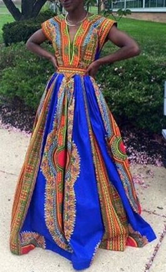 Unique African Prom Dress