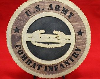US ARMY Combat Infantryman Badge Tribute