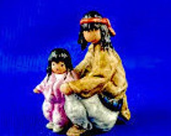 Story Time DeGrazia Figurine