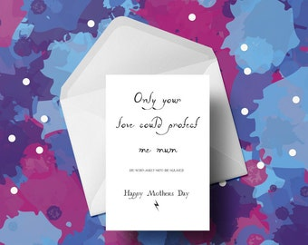 Mothers Day Card - Harry Potter Card