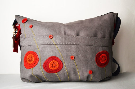 Floral Overnight Bag Duffel Sac Embroidered Bag Floral Travel
