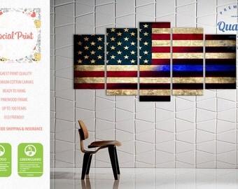 Hang Flag On Wall flag wall art | etsy