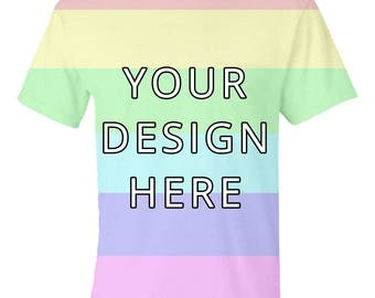 Design Your Own Shirt | Personalised T-Shirt | 48 Colours Available | 100% Cotton