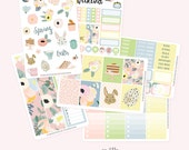 EASTER Planner Sticker Set | Fits Eclp Vertical or Classic Happy Planner