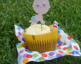 Baby Cupcake Picks