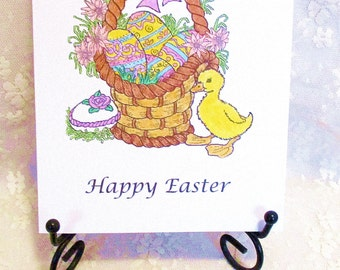 Easter Basket Note Card