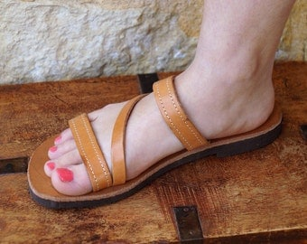 Elpiniki sandal,leather sandal.made Greece,Greek Leather,comfortable,for women,for girl,summer,spring,for oll day,