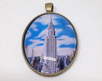 Chrysler building necklace/pendant
