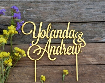 Wedding cake topper Names for wedding Personalized Name Mr and Mrs Last Name custom cake toppers Finally Mr&Mrs