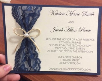Custom Made Invites